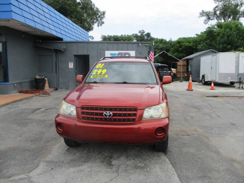 2001 Toyota Highlander for sale at AUTO BROKERS OF ORLANDO in Orlando FL