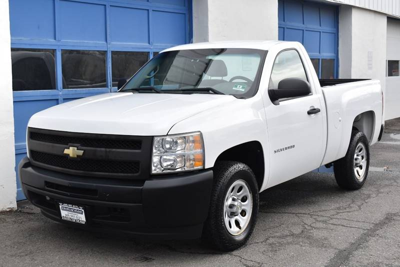 2010 Chevrolet Silverado 1500 Work Truck 4×2 2dr Regular Cab 6.5 ft. SB