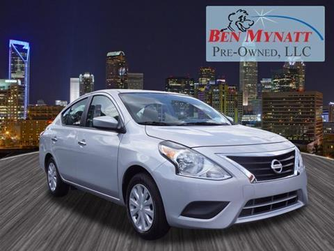 2017 Nissan Versa for sale in Kannapolis, NC