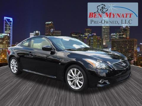 2014 Infiniti Q60 Coupe for sale in Kannapolis, NC