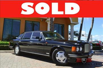 1993 Bentley Brooklands for sale in Deerfield Beach, FL