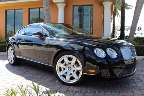 2008 Bentley Continental GT for sale in Deerfield Beach, FL
