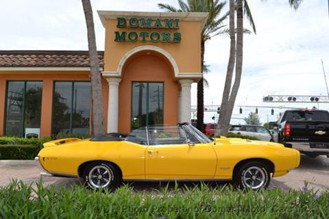 1968 Pontiac GTO for sale in Deerfield Beach, FL