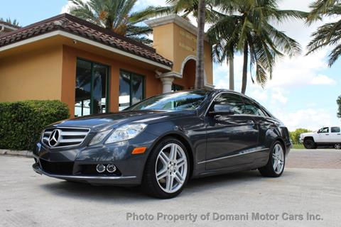 2011 Mercedes-Benz E-Class for sale in Deerfield Beach, FL