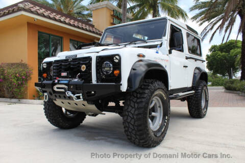 1986 Land Rover Defender LDVB 90 for sale at DOMANI MOTOR CARS INC in Deerfield Beach FL