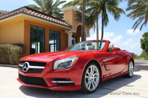2013 Mercedes-Benz SL-Class SL 550 for sale at DOMANI MOTOR CARS INC in Deerfield Beach FL