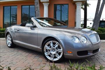 2009 Bentley Continental GTC for sale in Deerfield Beach, FL