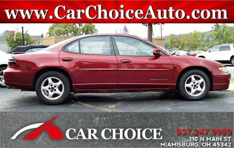 2001 Pontiac Grand Prix for sale in Miamisburg, OH