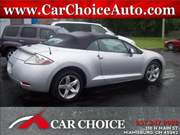 2008 Mitsubishi Eclipse Spyder for sale in Miamisburg, OH