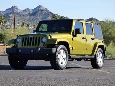 Used 2007 Jeep Wrangler For Sale in Phoenix, AZ ...