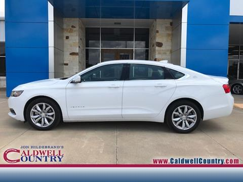 2017 Chevrolet Impala for sale in Caldwell TX