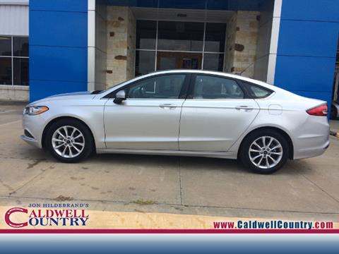 2017 Ford Fusion for sale in Caldwell, TX