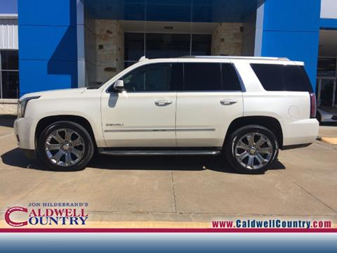 2015 GMC Yukon for sale in Caldwell, TX