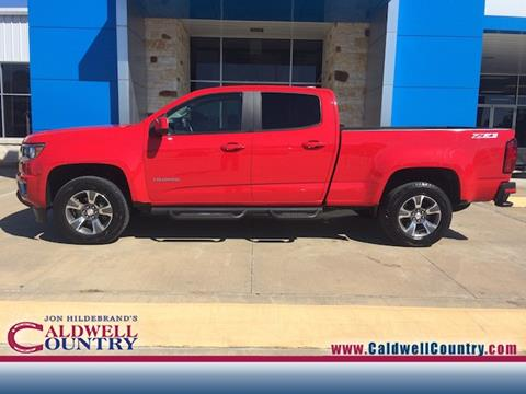 2015 Chevrolet Colorado for sale in Caldwell TX