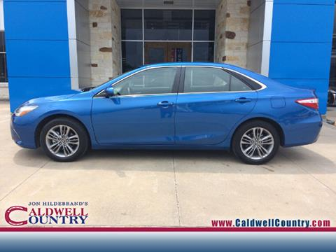 2017 Toyota Camry for sale in Caldwell, TX