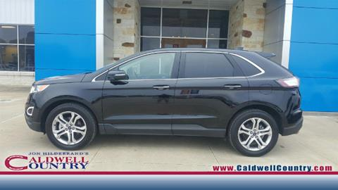 2016 Ford Edge for sale in Caldwell, TX