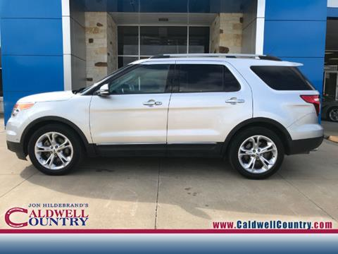 2014 Ford Explorer for sale in Caldwell, TX