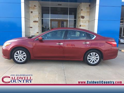 2016 Nissan Altima for sale in Caldwell, TX