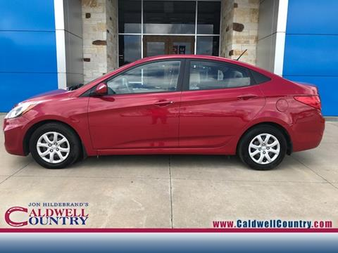2012 Hyundai Accent for sale in Caldwell TX