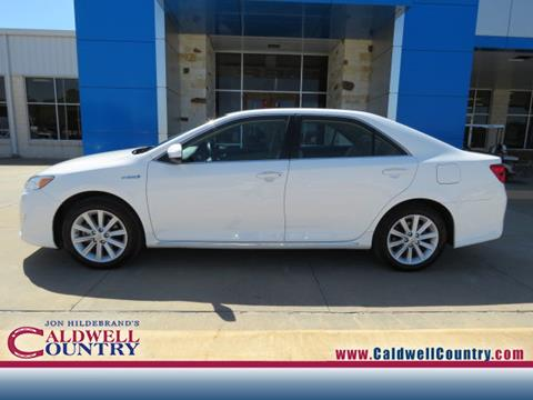 2013 Toyota Camry Hybrid for sale in Caldwell TX