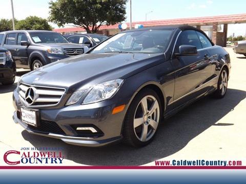 2011 Mercedes-Benz E-Class for sale in Caldwell, TX