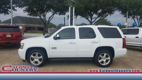 2012 Chevrolet Tahoe for sale in Caldwell, TX