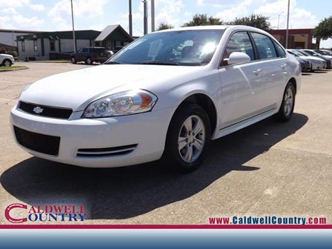 2012 Chevrolet Impala for sale in Caldwell TX