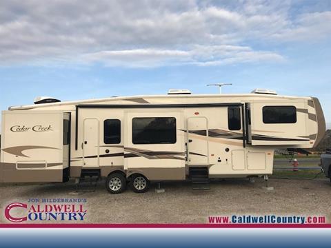 2016 Cedar Creek RV Cyclone for sale in Caldwell TX