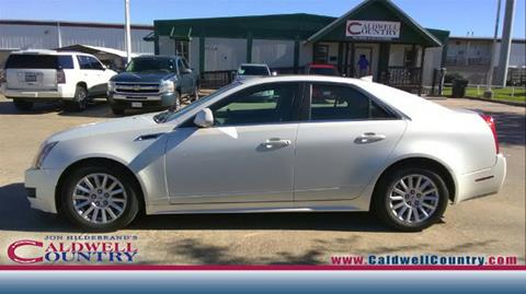 2012 Cadillac CTS for sale in Caldwell TX