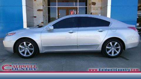 2012 Acura TL for sale in Caldwell, TX