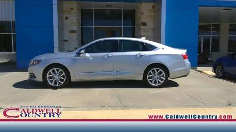 2016 Chevrolet Impala for sale in Caldwell, TX