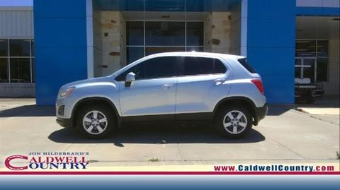 2016 Chevrolet Trax for sale in Caldwell, TX