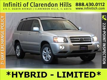 2006 Toyota Highlander Hybrid for sale in Clarendon Hills, IL