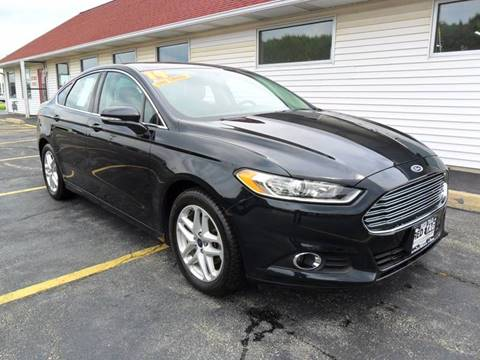 2014 Ford Fusion for sale at RED TAG MOTORS in Sycamore IL