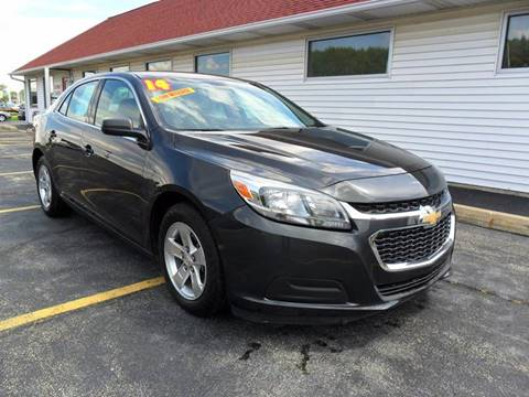 2014 Chevrolet Malibu for sale at RED TAG MOTORS in Sycamore IL