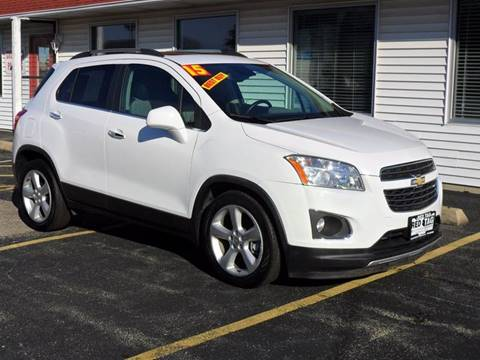 2015 Chevrolet Trax for sale at RED TAG MOTORS in Sycamore IL