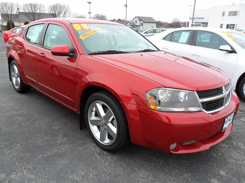 2008 Dodge Avenger for sale at RED TAG MOTORS in Sycamore IL
