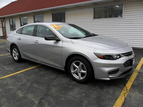 2016 Chevrolet Malibu for sale at RED TAG MOTORS in Sycamore IL