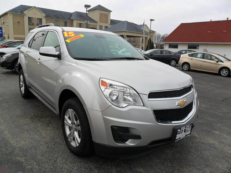 2015 Chevrolet Equinox for sale at RED TAG MOTORS in Sycamore IL