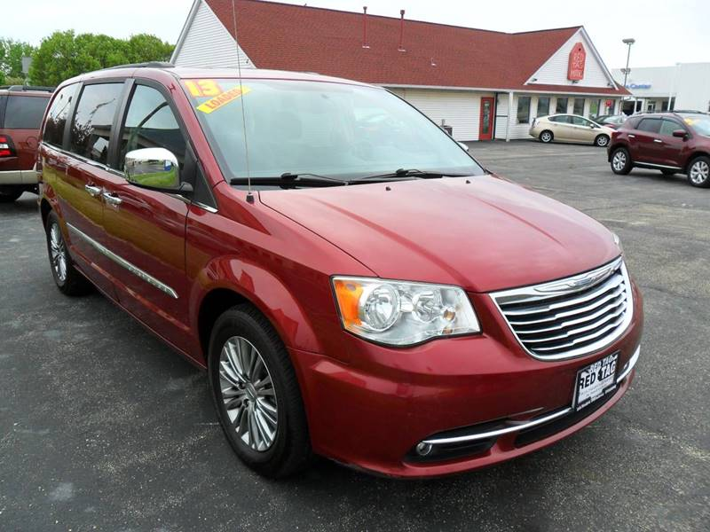 2013 Chrysler Town and Country for sale at RED TAG MOTORS in Sycamore IL