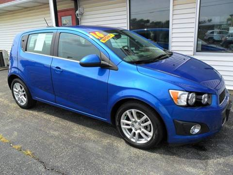 2016 Chevrolet Sonic for sale at RED TAG MOTORS in Sycamore IL