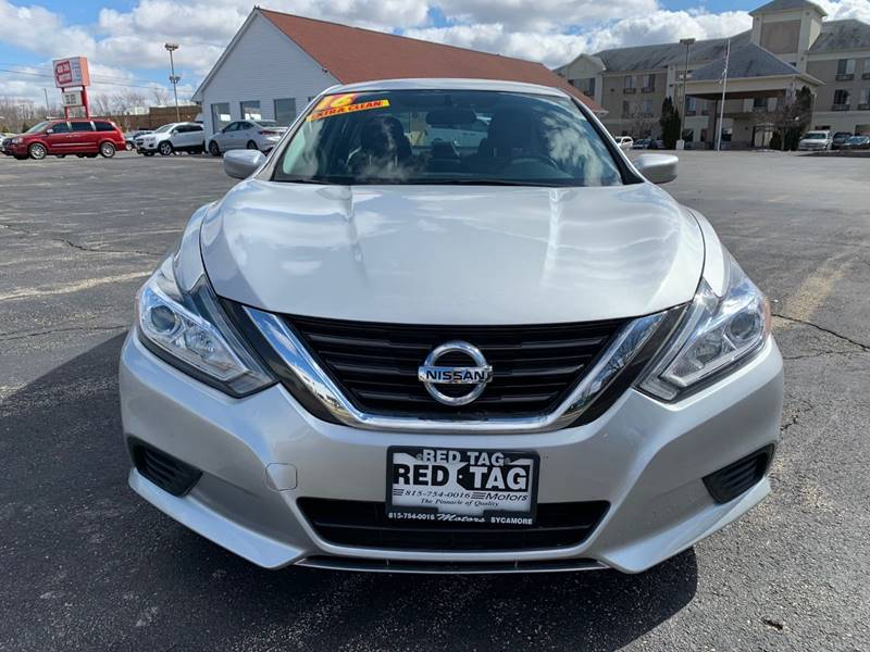 2016 Nissan Altima for sale at RED TAG MOTORS in Sycamore IL