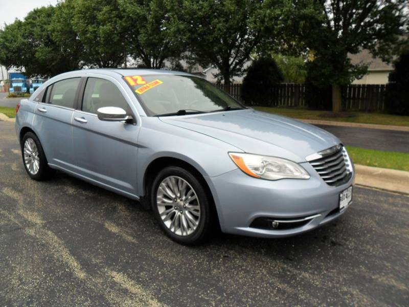 2012 Chrysler 200 for sale at RED TAG MOTORS in Sycamore IL