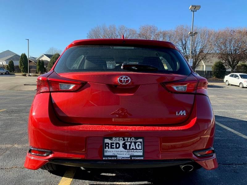 2017 Toyota Corolla iM 4dr Hatchback CVT - Sycamore IL