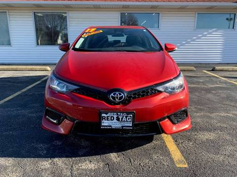 2017 Toyota Corolla iM for sale at RED TAG MOTORS in Sycamore IL