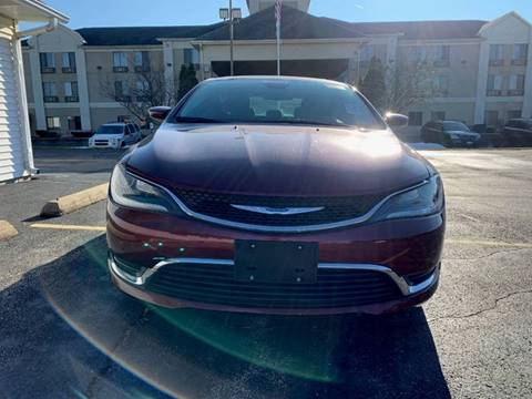 2016 Chrysler 200 for sale at RED TAG MOTORS in Sycamore IL