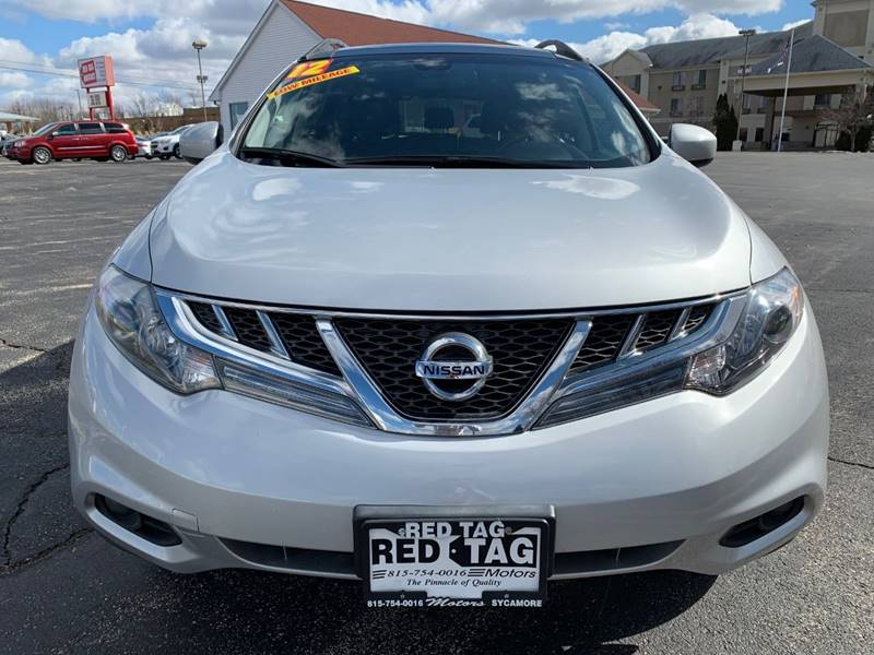 2012 Nissan Murano for sale at RED TAG MOTORS in Sycamore IL