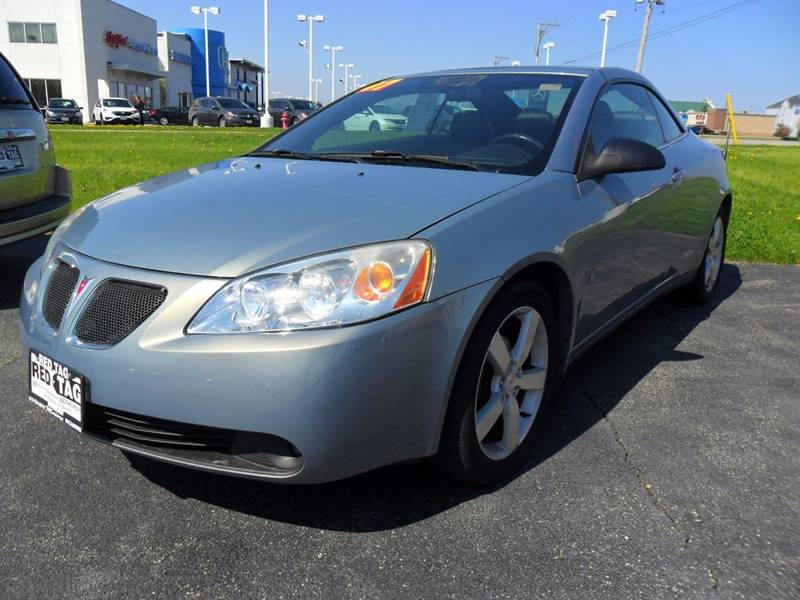 2007 Pontiac G6 GT 2dr Convertible - Sycamore IL