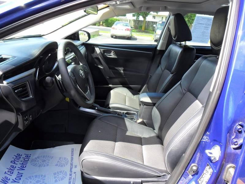 2014 Toyota Corolla S Plus 4dr Sedan CVT - Sycamore IL
