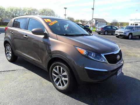 2014 Kia Sportage for sale at RED TAG MOTORS in Sycamore IL